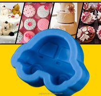 Excellent Decorating Baking Mold, Car Soap Making Molds Car Silicone Fondant Mold