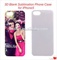 Year-end promotion!Offer printing service!Top quality 3d blank sublimation mobile phone case for printed iphone 5 case