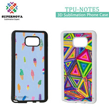 New Arrival Custom Printed Mobile Phone Case for Samsung Galaxy Note5