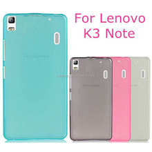 New products on china market Soft Transparent TPU Gel Skin Cover case back cover case for lenovo k3 note wholesale