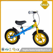 Kids Steel Balance Bike No Pedal First Running Training Learning Cycle