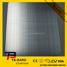 Brushed aluminum plain sheet forfire-proof plate/decoration/domestic appliance