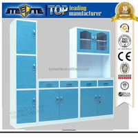 New Design Hot Sale Steel Metal Kitchen Cupboards Durban Need to Sell Used Kitchen Cabinets