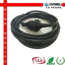 SAA electric wires and cables Power Extension Cord With Australia Socket
