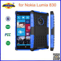 HEAVY DUTY TOUGH SHOCKPROOF WITH STAND HARD CASE COVER FOR Nokia Lumia 830