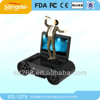 2014 New Design hot sales DVD player with karaoke in USA