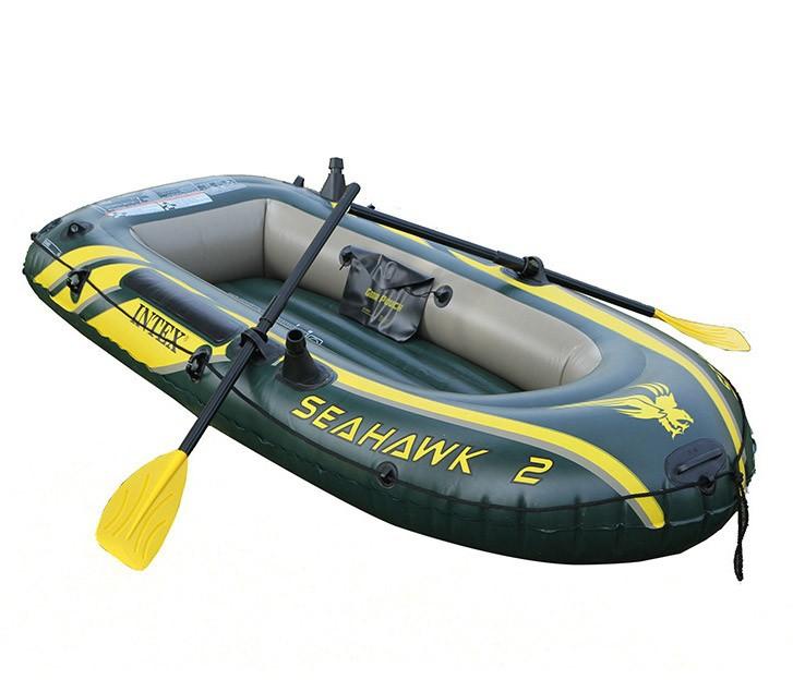 длина лодки для двух человек