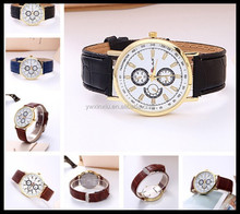 QUILT LEATHER STRAP WATCHES FOR WOMEN