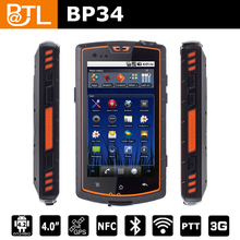 Cruiser BP34 waterproof outdoor nfc android mobile phone with GSM 0.3MP+5MP SOS