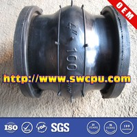 Customized flexible rubber coupling with flange in good quality