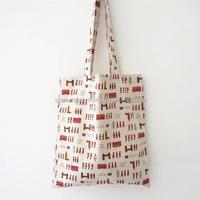 top quality canvas shopper fabric bag
