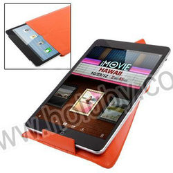 Special Design Lichee Texture Stand Leather Pouch Case Bag for iPad Mini Multi Colors