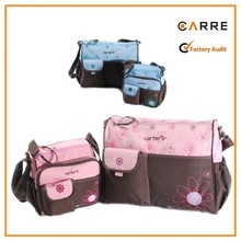 classical 300D polyester mother baby carter's nappy bag