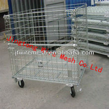 Cage Pallet/Stackable Retention Unit,Wire Container