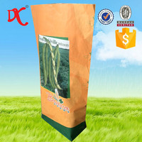 paper bags wholesale for vegetable, herb, grain and fruit seeds