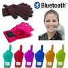 Bluetooth Touch Screen Gloves With Acrylic+Polyster+Conductive Material+ Electronic parts