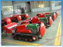 Remote mini crawler tractor for Garden farming