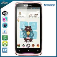 Original Lenovo A356 Girl Smart Cell Phone MTK6515 RAM512+ROM 4GB Dual SIM card Camera Bluetooth