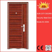 Used hotel designs lowes security metal door SC-S054