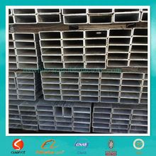 High quality rectangular 80g thin wall galvanized carbon tubular
