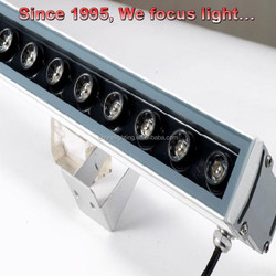 12W Rgb Led Wall Washer Light Car Roof Top Light Bar