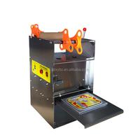 Desktop manual plastic box sealing machine/ bowls sealer