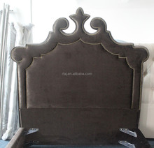 Solid wood modern ikea fabric bed furniture of queen size of American style for single