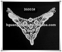 Triangle polyester collar lace for dress