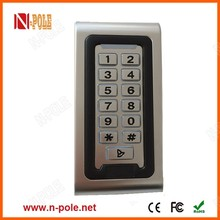 Low price IP68 waterproof standalone Metal case access control
