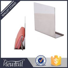 Hot Selling Metal Commercial Burse Display For Wallet Stores