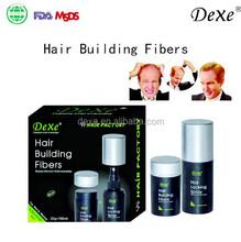 organic hair loss fibers Hot top sale Dexe 2015 for women and men