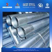 GI PIPE Scaffolding Pre-Galvanized pipe construction galvanized for greenhouse frame galvanized steel pipe