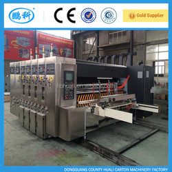 Carton-machine HL-A high speed flexo printing slotting die cutting machine for corrugated cardboard / carton box machine