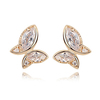 Diamond earing jewellery design butterfly earring dangle zircon earrings
