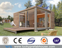 prefabricated luxury living house sleeping container