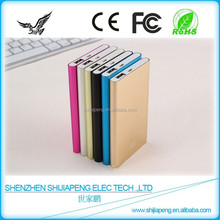 China Cheapest Mobile Power Bank 8800mAh With Polymer Lithium-ion Batteries