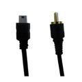 mini usb a macho cable rca/audio/cable de vídeo