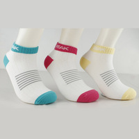 PEAK New Arrival Cotton Women Sports Low Cut Socks Cotton Fashion Sock Slippers Striped of Color Hot sale W151532 Free Shipping