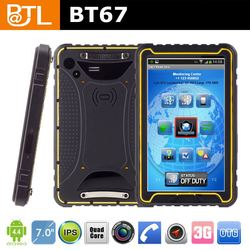 professional technology support PHC269 Cruiser BT67 customizing Ublox rugged tablet 7 inch