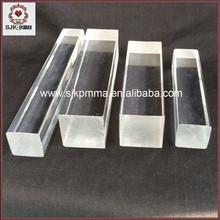 Venta de la fábrica Square acrílico varilla, cuadrada de plástico transparente varilla