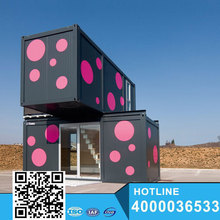 Pretty look 20ft mobile camping house/container house for sale