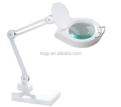 led magnifying glass;ideal lamp for work;weighted base;7inches mangifier