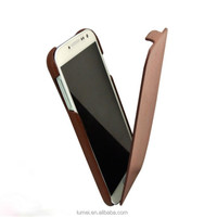 Compact Slim Leather Flip Brown Cover Case For Samsung Galaxy S4 I9500