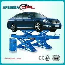 High Quality Floor Plate Two Post Car Lift with CE,weight lifting equipment