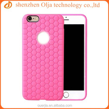 Olja unique football design soft tpu case for iphone 6, for iphone 6 silicone case mix color