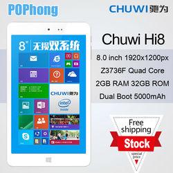 J Original Chuwi Hi8 Dual Boot Tablet PC 8 inch Intel Z3736F Quad Core 2GB RAM 32GB ROM 1920x1200px OTG Win8.1 Android 4.4