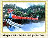 factory direct rides hot outdoor dragon amusement electric mini train