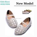 J-d0054 2015 de verano de moda sandalias planas elegante señora y niña zapatos blancos caliente venta zapatos