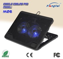 wholesale price laptop stand with adjustable angle notebook cooling pad