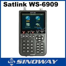 SATlink WS 6909 DVB-S DVB-T Digital Satellite Signal Finder Combo Meter LCD WS6909